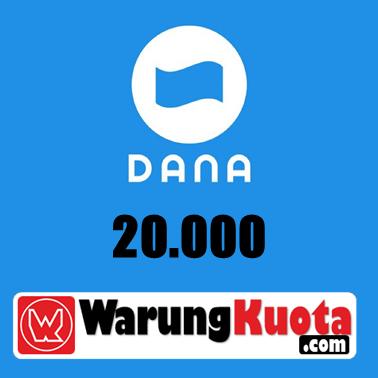 E-Wallet DANA - DANA 20.000