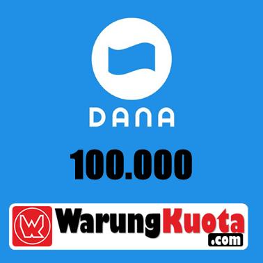 E-Wallet DANA - DANA 100.000
