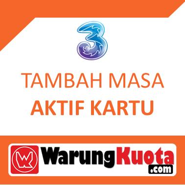 Masa Aktif Kartu Three - Masa Aktif Kartu 4 Bulan