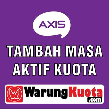 Masa Aktif Kuota Axis - Perpanjang Masa Aktif Paket 120 Hari