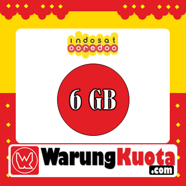 Paket Internet Indosat Data - Pure Internet - 6 GB; 24 Jam/30 Hari