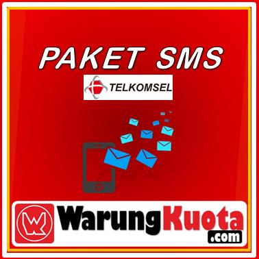 Telpon & SMS Telkomsel SMS - 1.500 SMS All Operator; 30 Hari