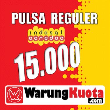 Pulsa Reguler Pulsa Indosat - 15.000