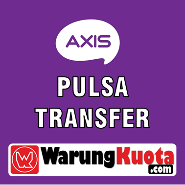 Pulsa Transfer Axis Transfer - 10.000